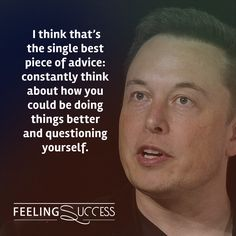 Elon Musk Quotes to spark proactivity and innovation! Read more: https://www.feelingsuccess.com/elon-musk-quotes/