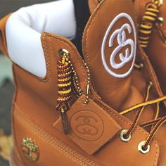 Timberland × Stussy Classic Boot