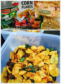 """Baking's Corner tagline, """"We bake. We cook. We share."""" ~ is a free~to~share platform created for the passionate home~bakers. Indian Snacks, Indian Food Recipes, Bakery Recipes, Snack Recipes, Cornflake Recipes, Curry Puff Recipe, Dried Raisins, Mixture Recipe, Malaysian Food"""