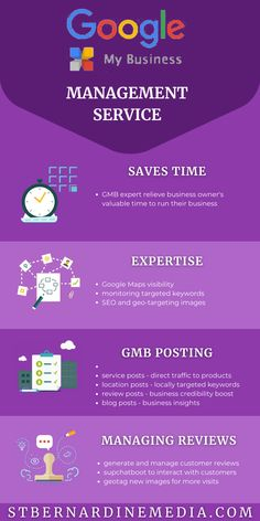 St. Bernardine Media Digital Marketing offers Google My Business Management Service. Check the infographic why your local business needs one too. #googlemybusiness #marketinginfographic #gmbmanagement #infographicmarketing #infographicguide #googlemybusinessmanagement #digitalmarketinggoogle #saturdayinfographic #stbernardinemedia