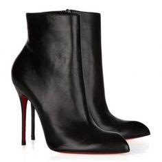 Christian Louboutin Ciociara 100 leather ankle boots