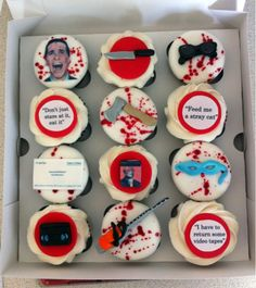American Psycho is my favorite movie and these are my favorite cupcakes