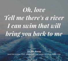 So far away~ Martin Garixx