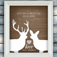 Rustic Woodland Wedding Love