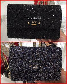 #กระเป๋าLYN Lynsy ไซส์ S มี 2 สี 1.สีดำ (สายยาวเป็น โซ่สีทองค่ะ)  2.สีน้ำเงิน (สายยาวเป็น โซ่สีเงิน ค่ะ)   ราคา 2,550 บาท รวมส่งEMS  ของแท้จากshop100% ส่งของทุกวันค่ะ  สั่งซื้อหรือสอบถาม  inbox http://m.me/LYNThailand หรือ  Line : @lynthailand(มี@ด้วยจ้า)