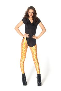 Mandarin Leggings - LIMITED