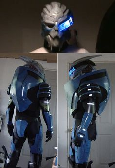Mass Effect II Garrus Cosplay, badass cosplay, but I wish I could see the mask a bit clearer
