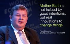 Feike Sijbesma at the World Economic Forum Annual Meeting of the New Champions 2014.