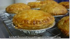 kitchen flavours: Chicken Pie : Free and Easy Bake-Along #29