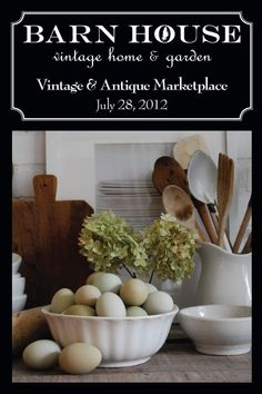 Barn House sale - July 28th  This show always looks awesome.  I'd love to go some time