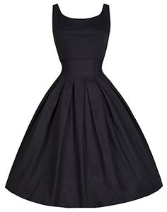 Lindy Bop 'Lana' Vintage 1950's Inspired Rockabilly Swing Dress (XS, Black) Lindy Bop http://smile.amazon.com/dp/B00TPLWFM6/ref=cm_sw_r_pi_dp_QkDGvb0JT4QAA