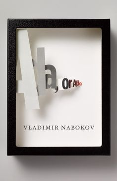 """In 2009 Vintage decided to """"re-cover"""" their Vladimir Nabokov backlist; 21 designers were approached for the project and were asked to design the cover using the theme of a specimen box, since Nabokov was an avid butterfly collector (seriously, read his memoir """"Speak, Memory"""" it's great…and full of butterfly chasing). The results are, I think, astonishingly gorgeous.  Cover design: Chip Kidd"""