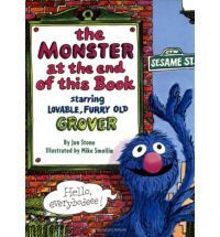 there's a monster at the end of this book! I remember reading this to my brothers!