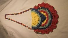 Fun colored purse for girl, 3 circles make the purse, easy