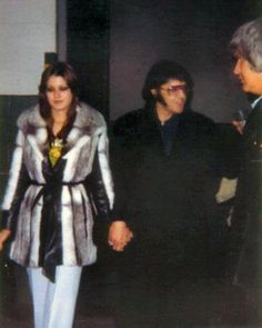 Elvis & Ginger 1977