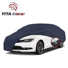 best hail proof car cover: 5. YITAMOTOR All Weather Proof Universal Fit Car Cover