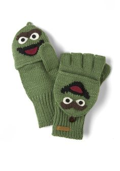 Sesame Sweet Convertible Gloves in Oscar, #ModCloth