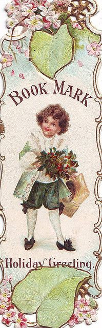 Victorian Book Mark ~ Vintage Ephemera