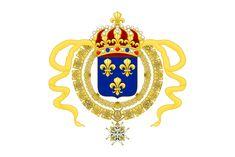 Royal Standard of King Louis XIV.svg