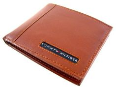 Tommy Hilfiger Cambridge Tan Passcase Billfold Wallet - Tommy Hilfiger Wallets - Designer Wallets