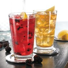 Friday's Blackberry Long Island Tea