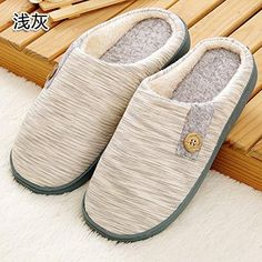 Oferta: 18.62€. Comprar Ofertas de UWSZZ Bajo par de invierno cálido zapatillas para hombres y mujeres en casa con zapatillas de algodón, espesas y cálidas zapa barato. ¡Mira las ofertas!
