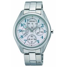 Seiko SRL051P1 Women's White Dial Stainless Steel Bracelet Day Date Watch Review