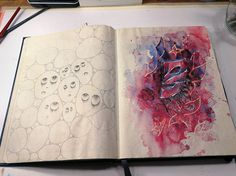 #акварель #aquarelle #drawing #art #artist #artwork #painting #illustration #watercolor #aquarela #gemälde #sketchbook #skizzenbuch #creative #picture #Kunst #watercolor #pencil #Bleistift #acryl