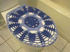Crochet Toilet Seat Cover