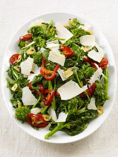 Broccoli Rabe With Cherry Peppers recipe from Food Network Kitchen via Food…