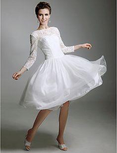 TALIYAH - Vestido de Noiva em Cetim - BRL R$ 238,33