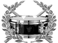 Snare Drum Tattoo Design