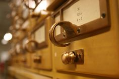 Good Ol Days by emdot #Photography #Library #Card_Catalog