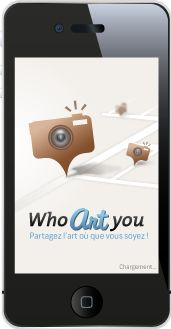 App Who Art You on iPhone