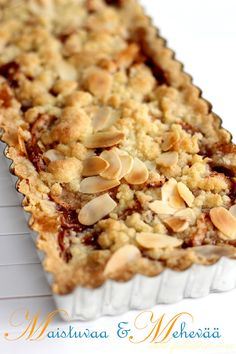 Sweet Pie, Apple Pie, Macaroni And Cheese, Sweet Tooth, Baking, Ethnic Recipes, Desserts, Pastries, Brownies