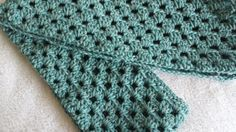 Infinity Crocheted Scarf Aqua by softtotouch on Etsy, $29.00