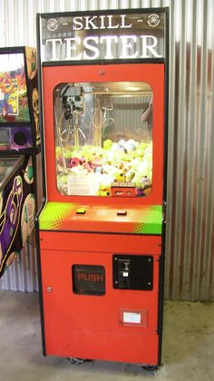 I was the BOSS at these -skill tester machines