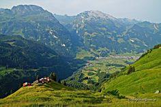 Wildheuerhütten, Heuberig, Muotathal SZ, Schweiz