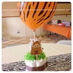The Purple Patch: Lion King Safari Baby Shower Lion King Theme, Lion King Party, Lion King Birthday, Baby Shower Parties, Baby Shower Themes, Shower Ideas, Baby Showers, Shower Party, Lion King Baby Shower