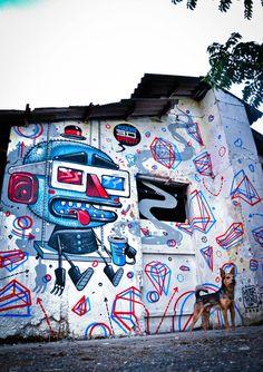 Street-Art-Day: Den Anfang macht Mr. Thoms  Heute ist der erste Street-Art-Day auf dem KlonBlog. An diesem Tag zeigen wir ausschließlich Kunstwerke, welche die Wände und Straßen dieser Welt...