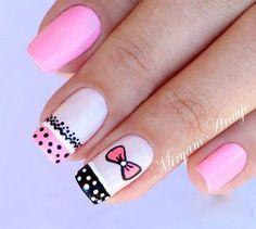 Kawaii Nails, Pretty Nail Art, Gel Nail Designs, Nail Trends, Nail Arts, Short Nails, Cute Nails, Pedicure, Nail Colors