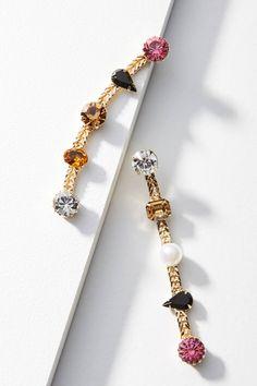 Slide View: 1: Walsie Drop Earrings