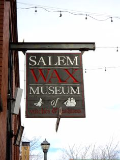 In Salem. Next time I go maybe I'll getta go here and to the cemetary