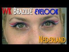 WK Brazilië - eyelook Nederland - beautyflamenatasja.nl #beauty #blog #blogger #beautyblogger #beautyflamenatasja #blogpost #content #artikel #voetbal #nederland #look #makeup #tutorial