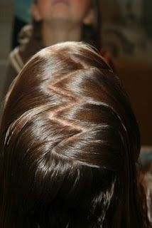 Tips & Tricks #6: How to do a Zig-Zag Part | Hairstyles, Braids and Hair Style Ideas | Cute Girls Hairstyles