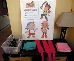 Dress up like Jake and the Neverland Pirates this is really a cool idea