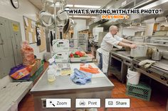 WorkSafeBC - Past Photos - What's wrong with this photo? (Kitchen safety) - Sat Sep 13, 2014