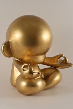 munny golden zen... #munny #kidrobot make your own--customizable kidrobot munny toys available at www.lazydazeco.com!
