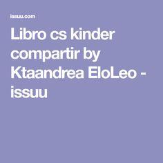 Libro cs kinder compartir by Ktaandrea EloLeo - issuu