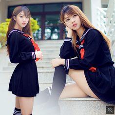 Japanese girl uniforms suit sailor suit, Japan and England school uniform girl…